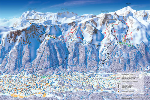 HSvisual Art Panoramas SkiMap3D Ski Maps